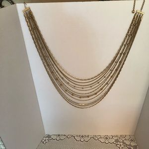 Gold plated necklace